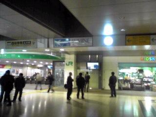 今日の立川駅